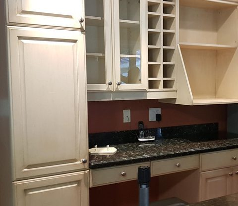 after- kitchen refinishing